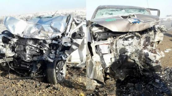 El accidente fatal se cobró dos víctimas.