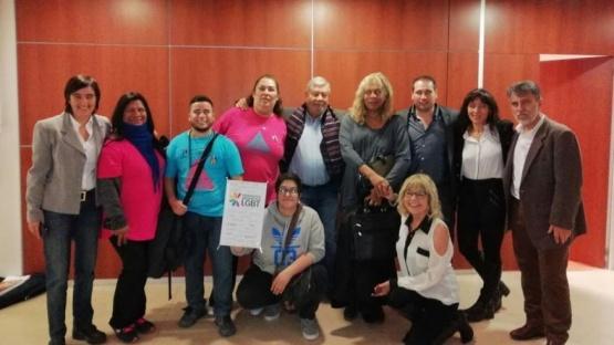 Es ley el cupo laboral trans en Chubut