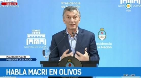 Macri respaldó los informes sobre supuestas veredas calefaccionadas.