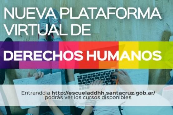 """Lanzan la plataforma virtual educativa """"Escuela de Derechos Humanos"""""""
