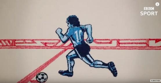 La impactante animación de la BBC por el Mundial