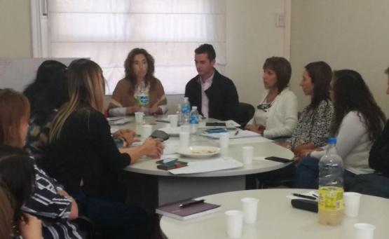 García encabezó las reuniones.