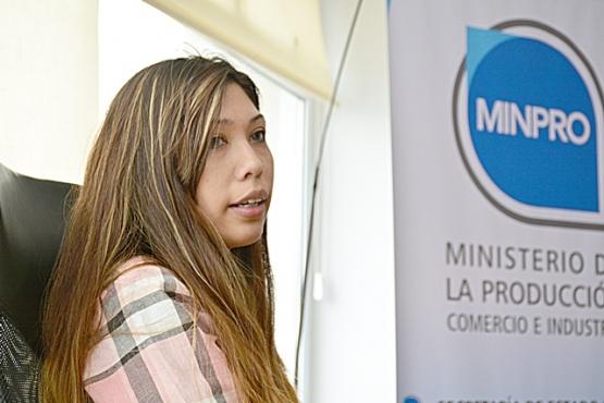 Anahí Saldivia, directora de Defensa al Consumidor. (C. R)