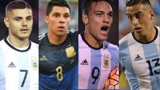 Estos son los jugadores a los que Sampaoli les bajó el pulgar para el Mundial