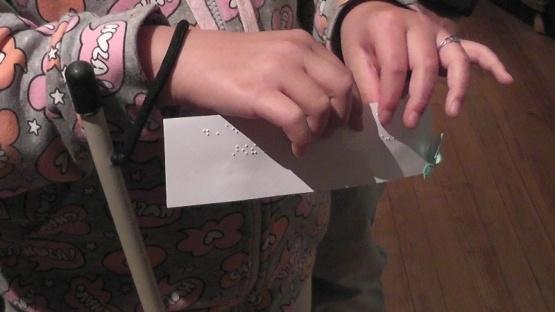 Museo Rosa Novak presentó su folleto braille