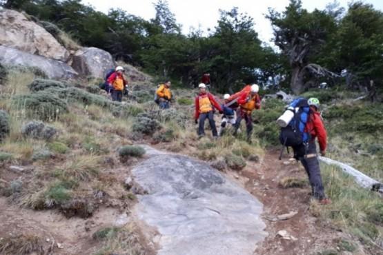 Gendarmería planifica un ejercicio combinado en El Chaltén