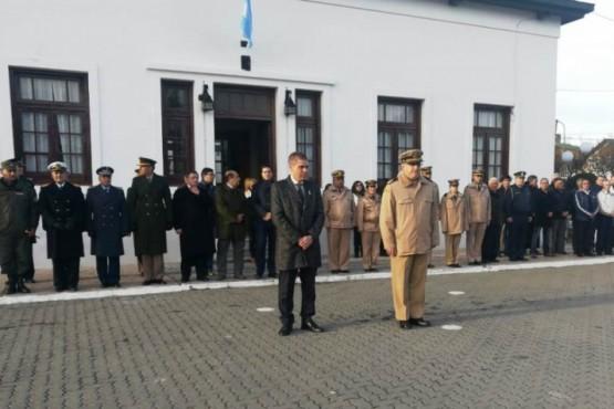 Homenajearon a Prefectura por la participación en Malvinas