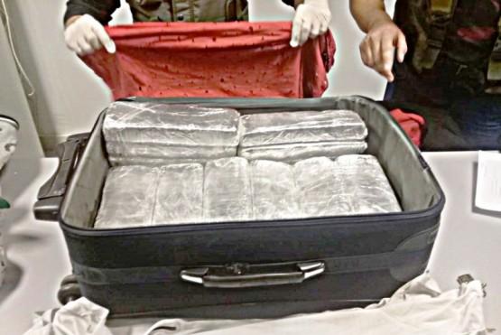 Una pareja detenida y más de 29 kilos de marihuana secuestrados