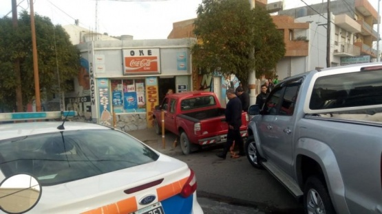 Un niño de 12 años estrelló camioneta contra un comercio