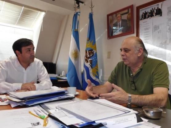 Grasso y Giubetich abordaron la situación de Río Gallegos