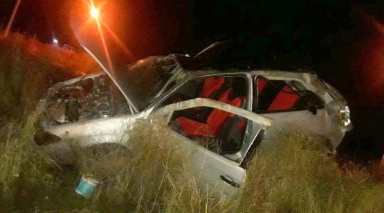 Dos lesionados en accidente en ruta 40