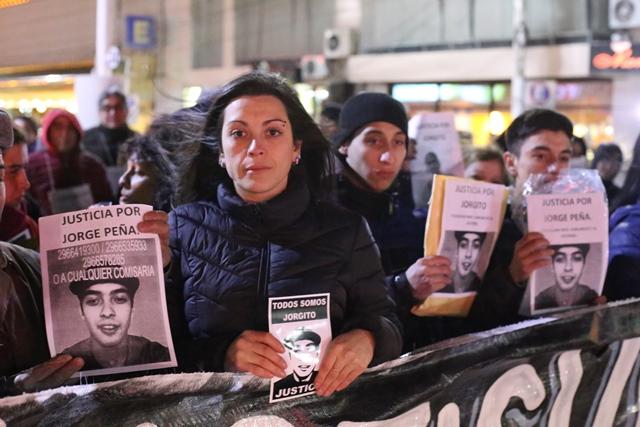 Verónica Peña dialogó con los medios presentes. (Foto: C.G.)