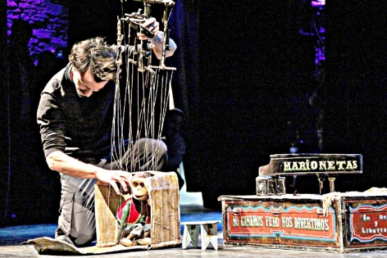 Rubén Orsini nos visitará con su mundo de marionetas