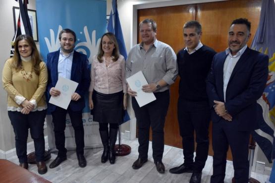 Asumieron los nuevos Presidentes del IESC e ISPRO