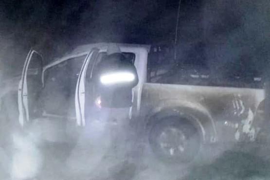 Rutas nevadas: camioneta protagonizó un nuevo accidente