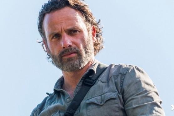 Andrew Lincoln interpreta a Rick Grimes en The Walking Dead. Photo Credito: Gene Page/AMC