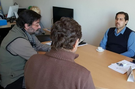 Primera reunión de González con Daniel Ramos
