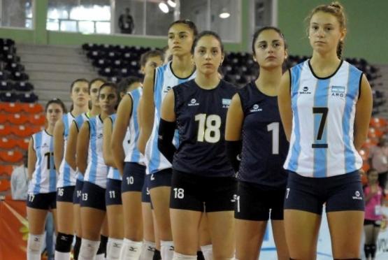 Se palpita la llegada de las selecciones de vóley Sub 18 de Argentina y Brasil