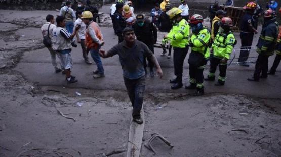 Explotó el volcán de Fuego y dejó al menos 25 muertos