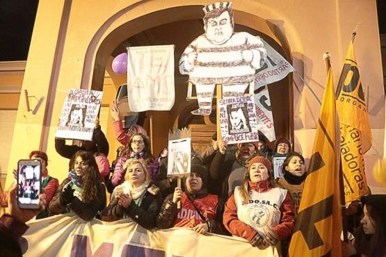 """Se movilizarán """"por todas las mujeres"""". (Foto archivo)"""