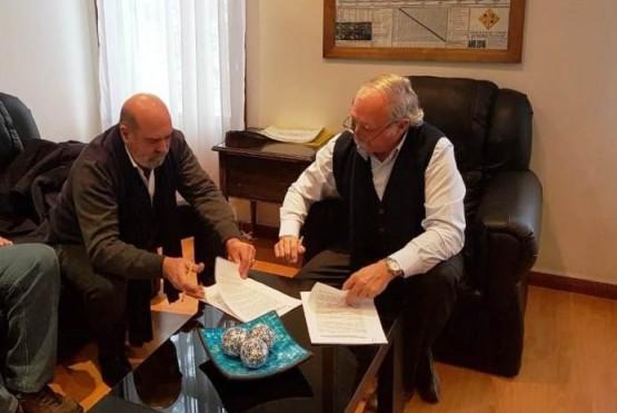 El Senasa firmó convenios para reubicar sus oficinas en Santa Cruz