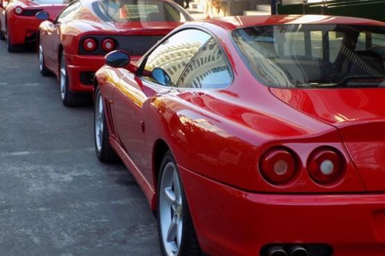 Un rally de Ferraris visitará El Calafate
