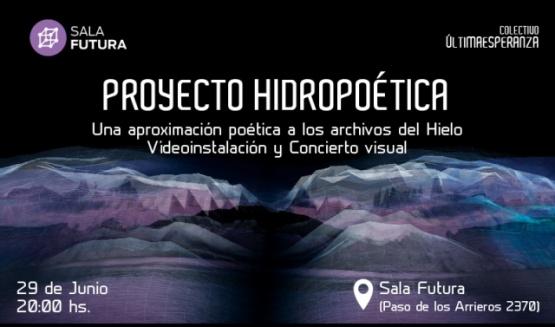 """Colectivo chileno presentará """"Proyecto hidropoética"""""""