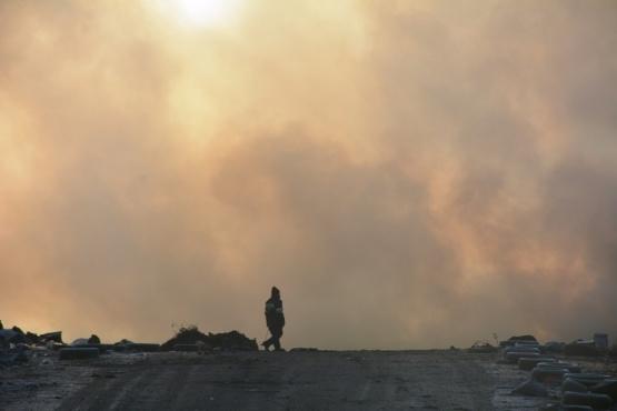 Advierten sobre el incremento de patologías respiratorias por incendios en el vaciadero