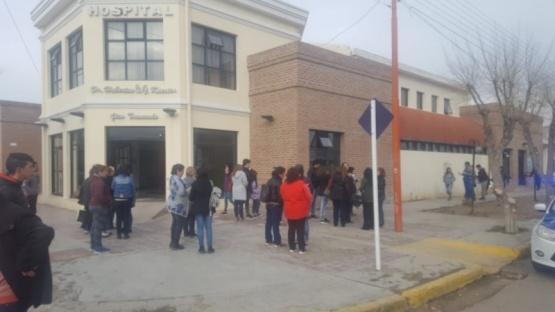 Pacientes tuvieron que ser evacuados por un incendio en Pico Truncado