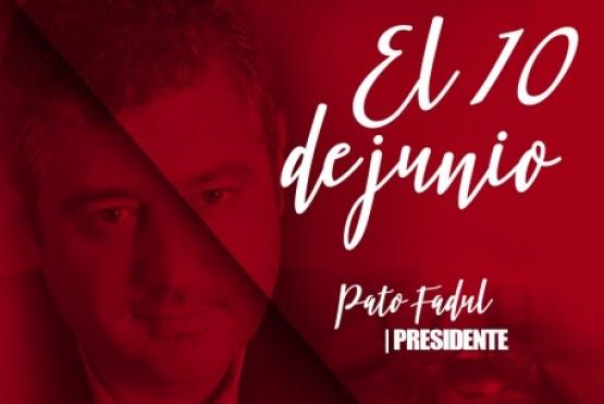 """""""Pato"""" Fadul va por el mando del Comité Río Gallegos"""