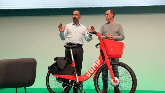 Uber lanza un servicio de alquiler de bicicletas eléctricas