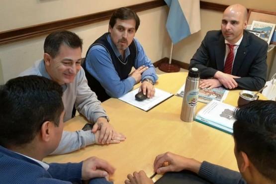 Néstor González y Gobierno analizaron la contabilidad del municipio