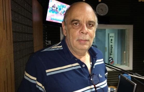 El Intendente estuvo en los estudois de Tiempo FM.