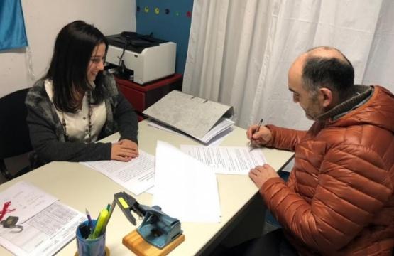 Firmaron el convenio desde el CIC Néstor Kirchner.