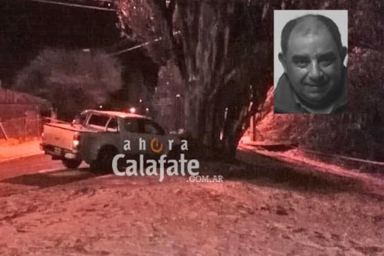 Fatal accidente en El Calafate: murió funcionario de SPSE