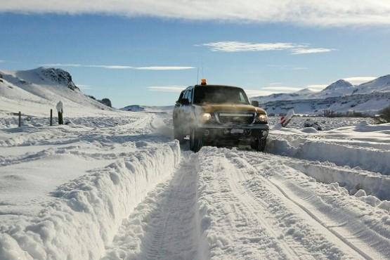 Buscan a peón rural que se extravió durante temporal de nieve