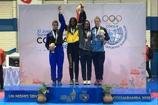 Taekwondista de Piedra Buena se subió al podio en los Odesur