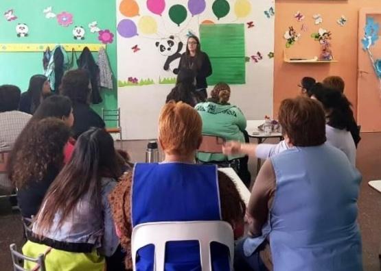 Capacitación sobre la protección y derechos del niño