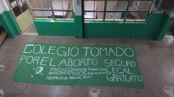 Estudiantes tomarán facultades y escuelas en apoyo a la legalización del aborto