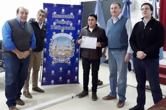 Enrique Mansilla fue reconocido por embellecer la ciudad