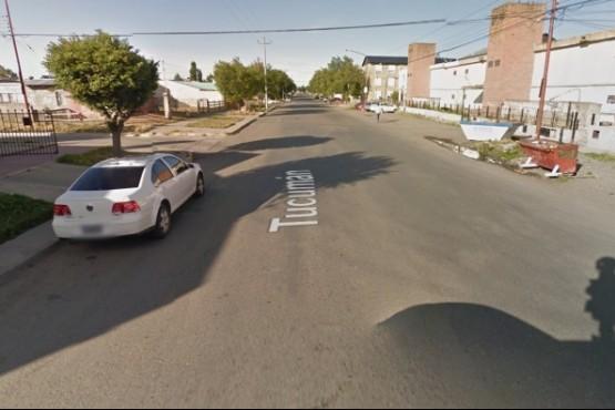 Calle Tucumán al 800 (Foto ilustrativa - Captura Google Maps)