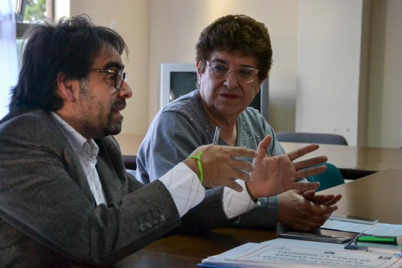 Roberto Ortiz y Teresa Soto, de Comuna.