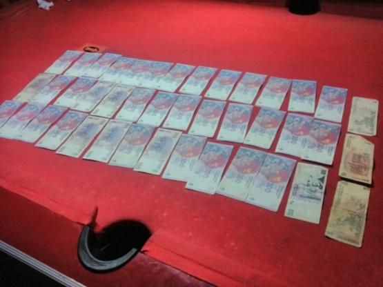 Secuestraron sustancia y dinero durante un operativo en local nocturno