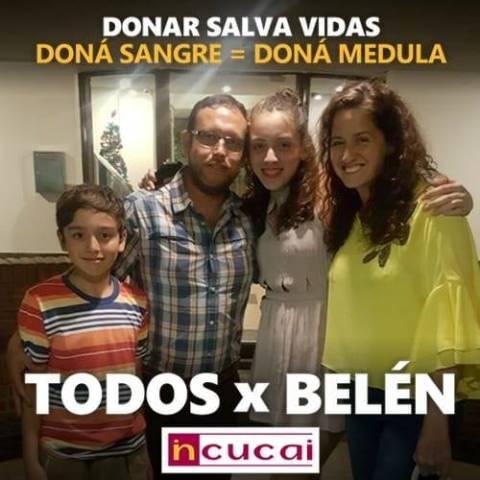 Belén Burgoa pasará al Registro Internacional de donantes