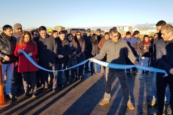 Realizaron la apertura del acceso vial de Avenida Asturias y Calle 13