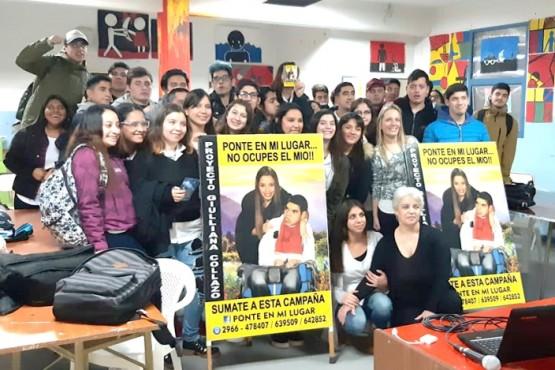 La campaña visitó el Colegio Secundario N°39