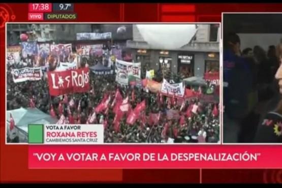 Reyes votará a favor de la despenalización del aborto