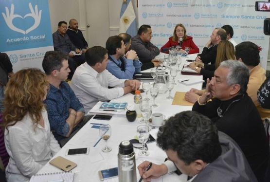 Mandatarios comunales optimistas por el proyecto UNIRSE