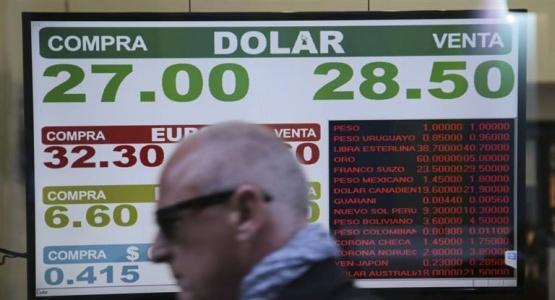 Dólar imparable: se disparó un 6,4% a $ 28,44