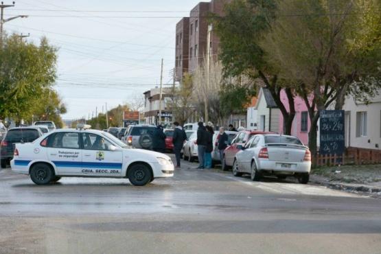 Los autos presentaron algunos daños en el choque de Alfonsín. (Foto: C.R.)